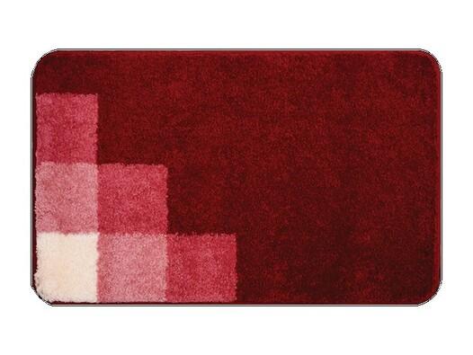 Koupelnová předložka Grund UDINE červená, 50 x 80 cm