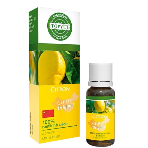Topvet Citron 100 percent silice 10 ml