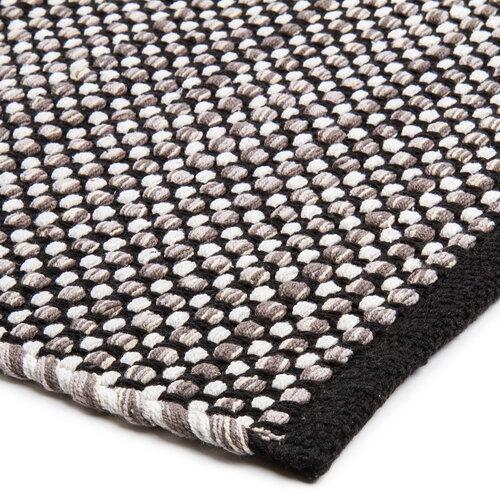 Kusový bavlnený koberec Elsa sivá, 50 x 80 cm