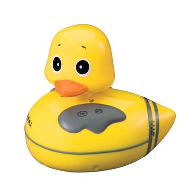 Kachnička s rádiem do vody, žlutá