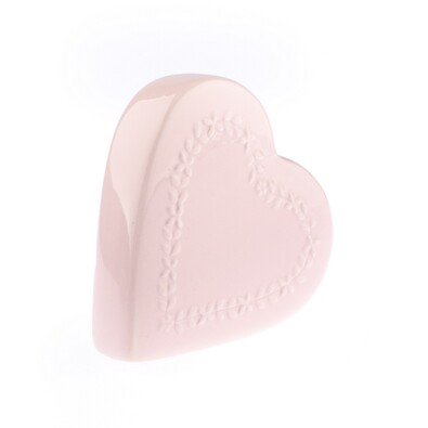 Keramický zvlhčovač vzduchu My heart, ružová
