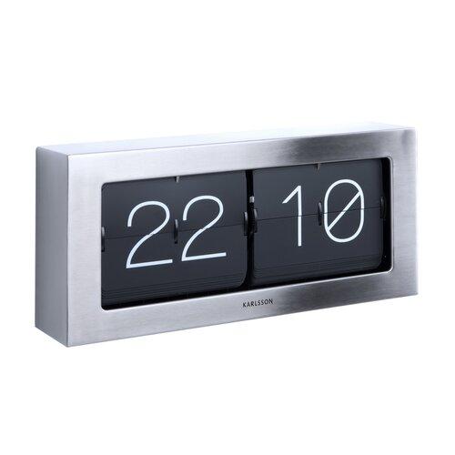 Karlsson 5642ST Designové stolní překlápěcí hodiny, 37 cm