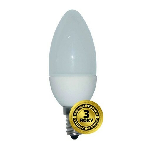 Solight LED žiarovka Sviečka 6W, 3000K