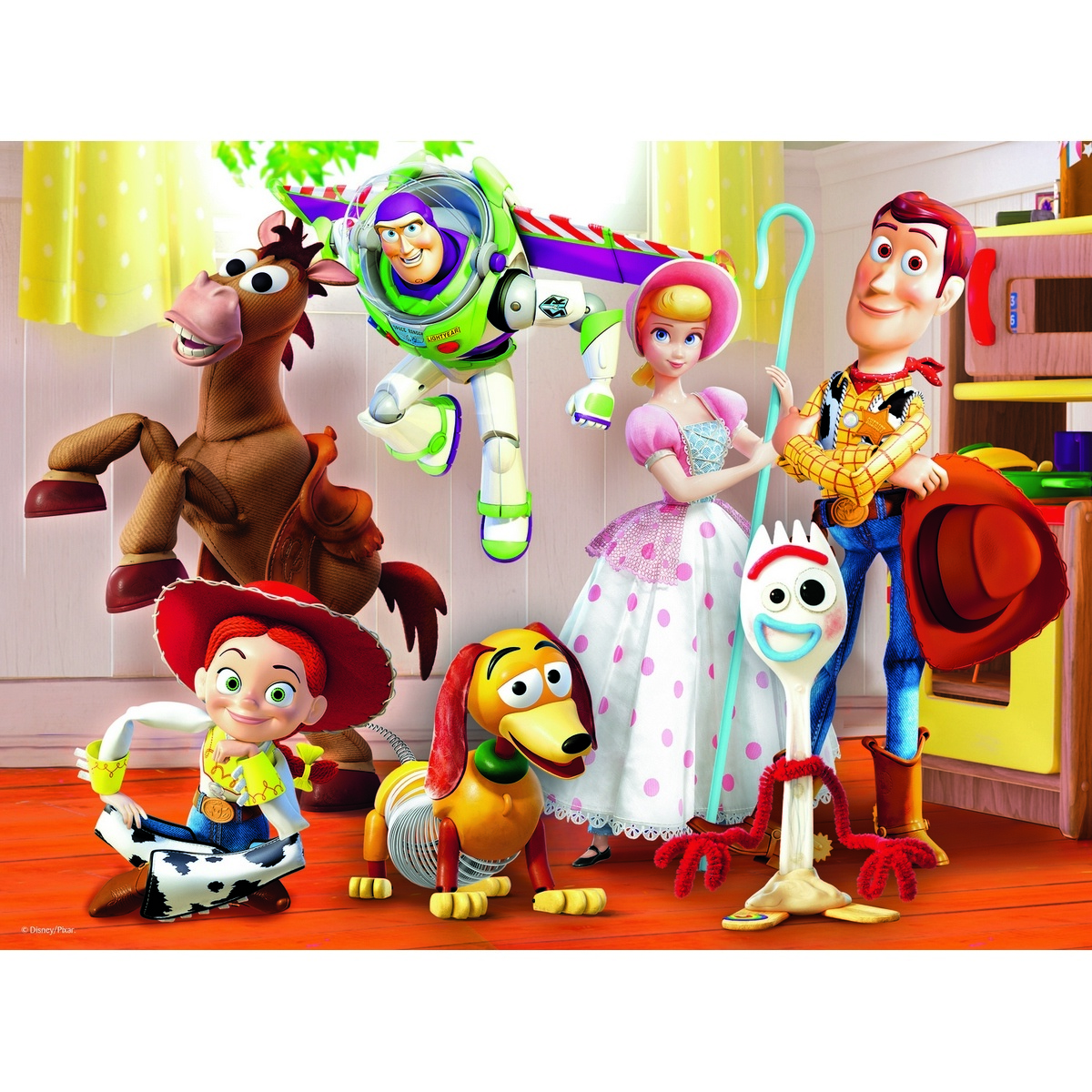 Trefl Puzzle Toy Story 4, 30 piese imagine 2021 e4home.ro