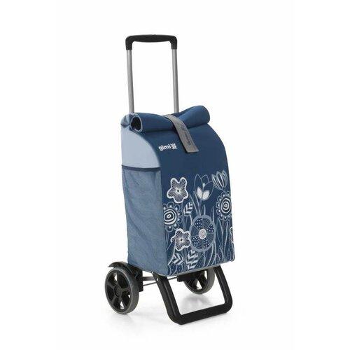 Gimi Nákupní taška na kolečkách Rolling Thermo modrá, 50 l