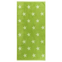 Ręcznik kąpielowy Stars zielony