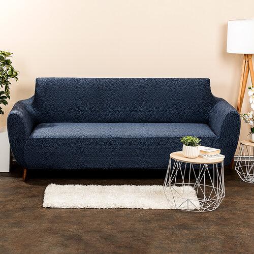 4Home Multielastický poťah na sedačku Comfort Plus modrá, 180 - 220 cm