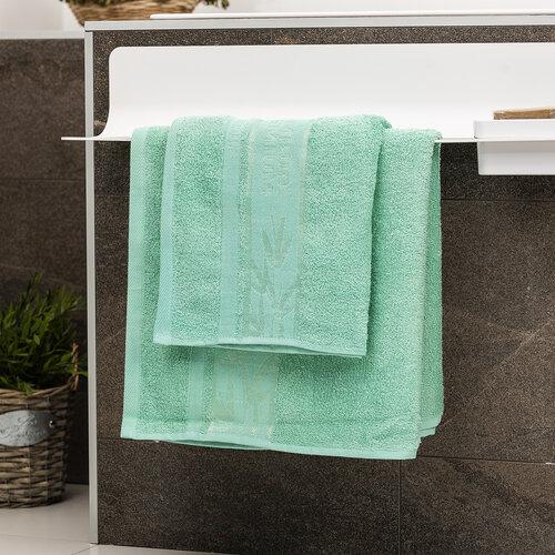 4Home Sada Bamboo Premium osuška a ručník mentolová, 70 x 140 cm, 50 x 100 cm