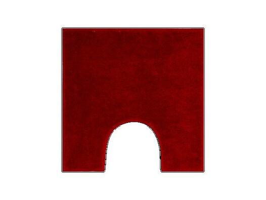 WC předložka Grund ROMAN červená, 50 x 50