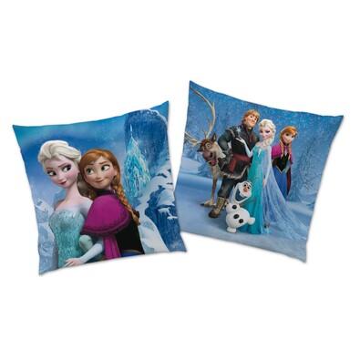 Polštářek Ledové království Frozen Cristal, 40 x 40 cm