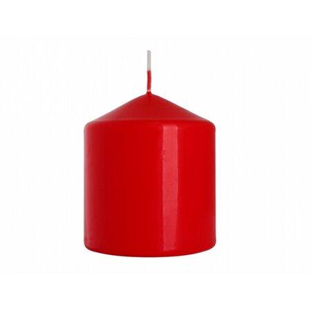 Dekorativní svíčka Classic Maxi červená, 9 cm