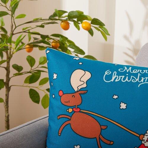 4Home Poszewka na poduszkę Rudolph, 45 x 45 cm