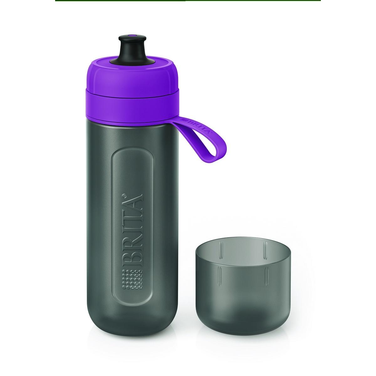 Brita Fill & Go Active filtračná fľaša na vodu, fialová