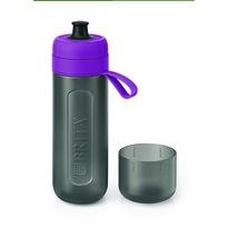 Brita Filtračná fľaša na vodu Fill & Go Active 0,6 l, fialová