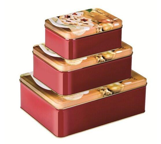 Tescoma DELÍCIA krabičky Veselé Vianoce 3 ks