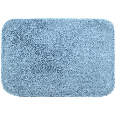 Covoraş de baie Izabela, gri-albastru, 60 x 90 cm