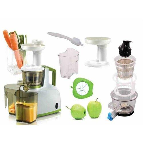 Kalorik FE1000 Šnekový odšťavovač/lis na ovocie a zeleninu + darček lis na citrusy Kalorik FP21