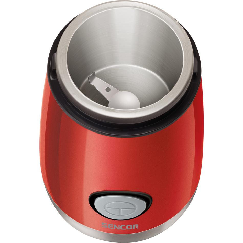 Produktové foto Sencor SCG 2050RD kávomlýnek, červená