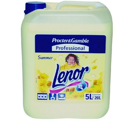 Lenor Summer, 5 l, žlutá