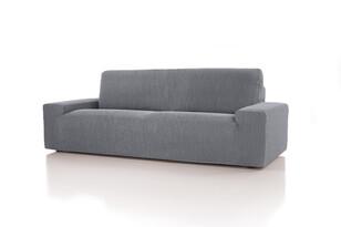 Pokrowiec multielastyczny na fotel Cagliari szary, 70 - 110 cm