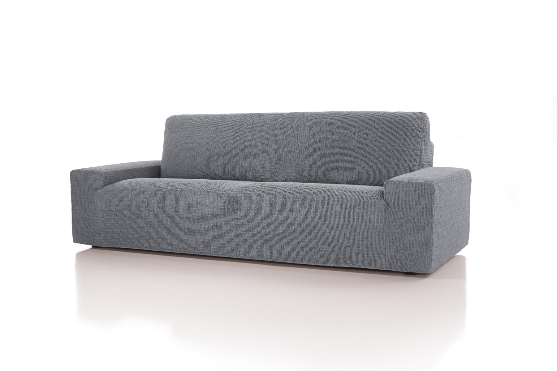 Forbyt, Potah multielastický, Cagliari, šedý křeslo, 70 - 110 cm