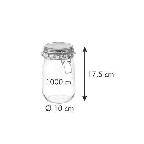 Tescoma Zavárací pohár s klipom DELLA CASA, 1 l