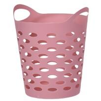 Cutie de plastic pentru articole mici, roz închis,13,5 cm