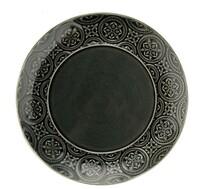 Florina Talerz ceramiczny deserowy Nadine 20 cm, grafitowy