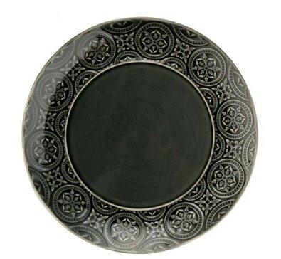 Florina Keramický dezertný tanier Nadine 20 cm, sivá