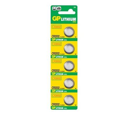 GP Greencell CR2032 lithiové baterie 5 ks