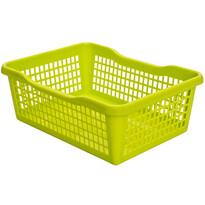 Plastový košík 24,8 x 14,7 x 7,2 cm, zelená