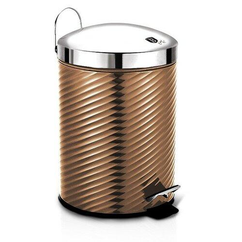 Coș de gunoi Berlinger Haus Rosegold MetallicLine, 12 l imagine 2021 e4home.ro