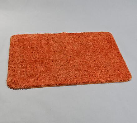 Koupelnová předložka, 60 x 90 cm, oranžová