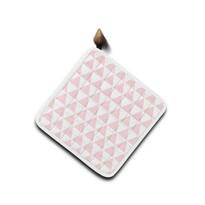 Domarex Podkładka kuchenna Home Chef różowa, 20 x 20 cm