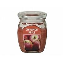 Sviečka v skle Jablko so škoricou, 430 g