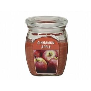 Svíčka ve skle Jablko se skořicí, 430 g