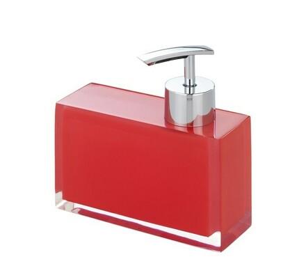 Dávkovač mýdla Visone červený