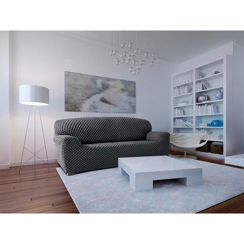 Contra multielasztikus kanapéhuzat  szürke, 180 - 220 cm