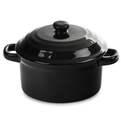Zapékací hrnec MINI, černá
