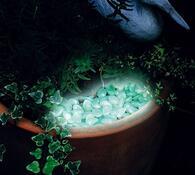 Svítící kamínky
