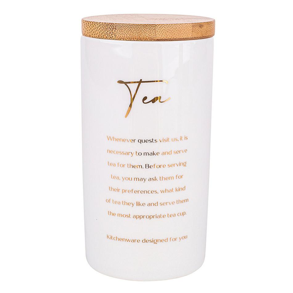Altom Porcelánová dóza s viečkom na čaj Organic