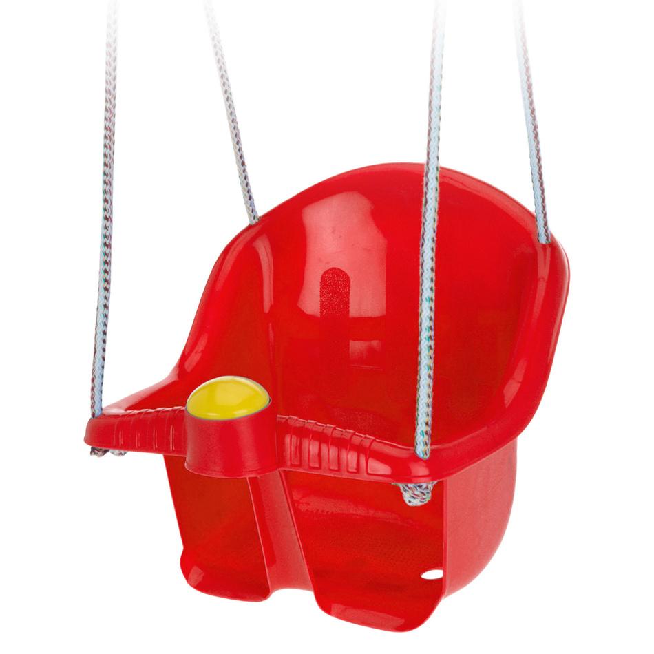 Detská záhradná hojdačka Sway, červená