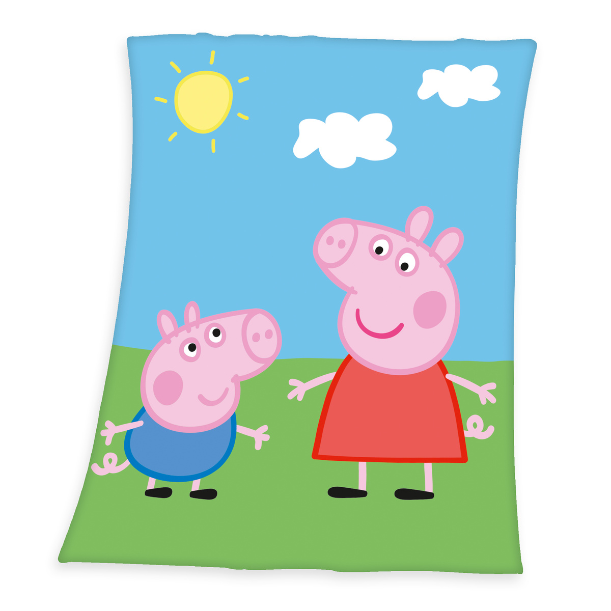 Herding Dětská deka Prasátko Peppa, 130 x 160 cm