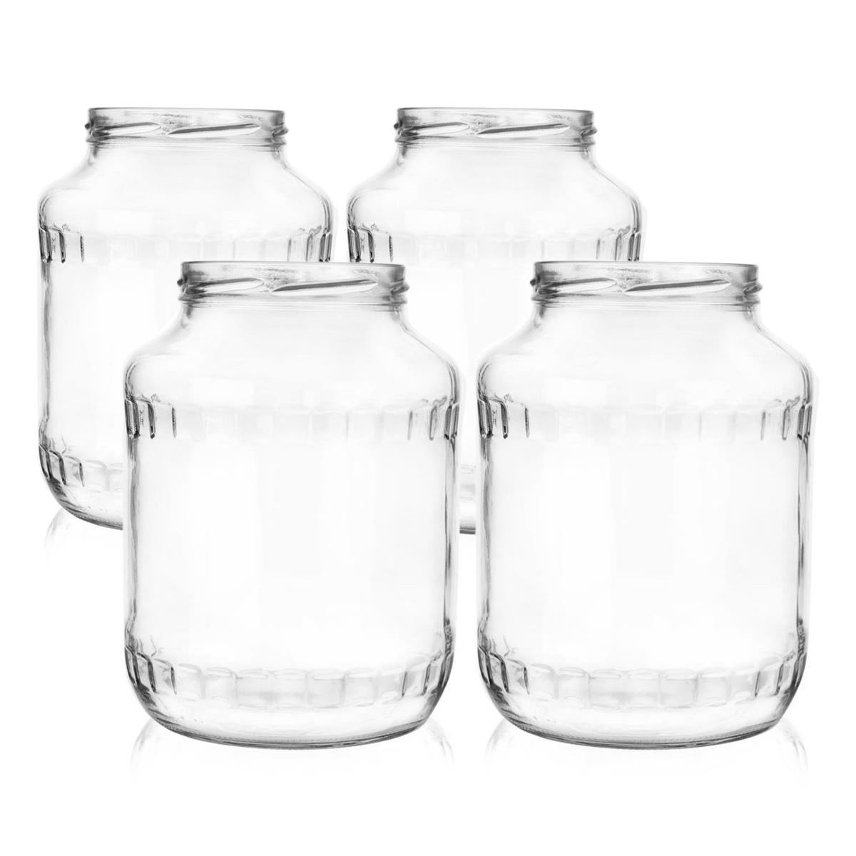 Orion Sada zaváracích pohárov Facetta 1,7 l, 4 ks