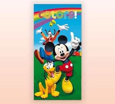Dětská osuška Mickey Mouse, 70 x 130 cm