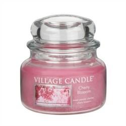 Village Candle Vonná svíčka ve skle, Třešňový květ - Cherry Blossom, 269 g