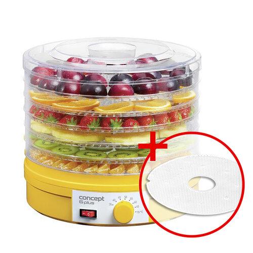 Concept 6 Plus SO-1015 sušička ovoce + dárek sušící síto na bylinky