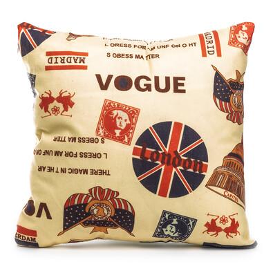 Povlak na polštářek Vogue London, 45 x 45 cm