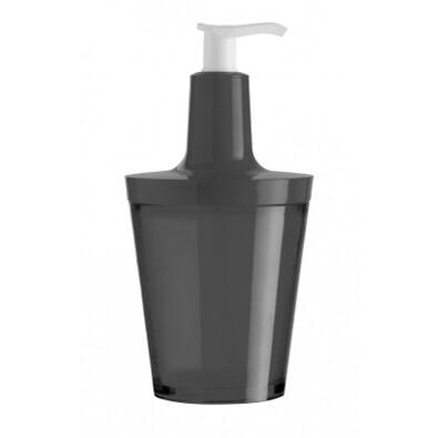 Dávkovač na mydlo Flow čierna, Koziol