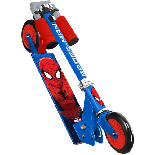 Buddy Toys BPC 4211 Kolobežka Spiderman, modrá